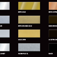 Anodized Color Chart