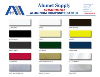 Alumet Supply - Aluminum Sheet, Coil and ACM Panels
