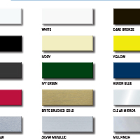 Compbond ACM Color Chart